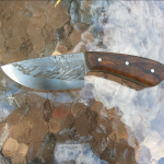 Cable San Mai Skinning Knife