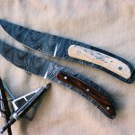 Thunderforged Damascus Blades